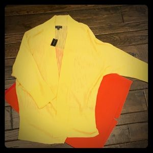 NWT The Limited Light Yellow Cardigan - Small